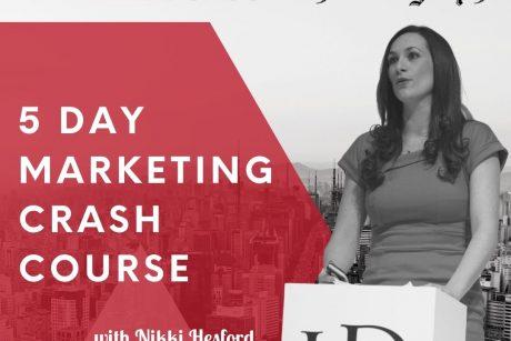 5 day marketing crash course