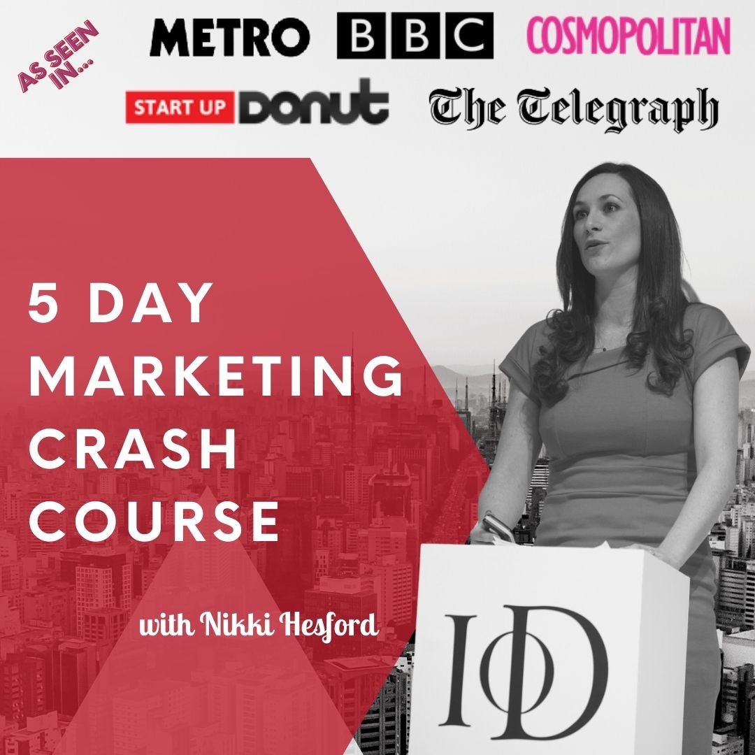 5 day marketing crash course