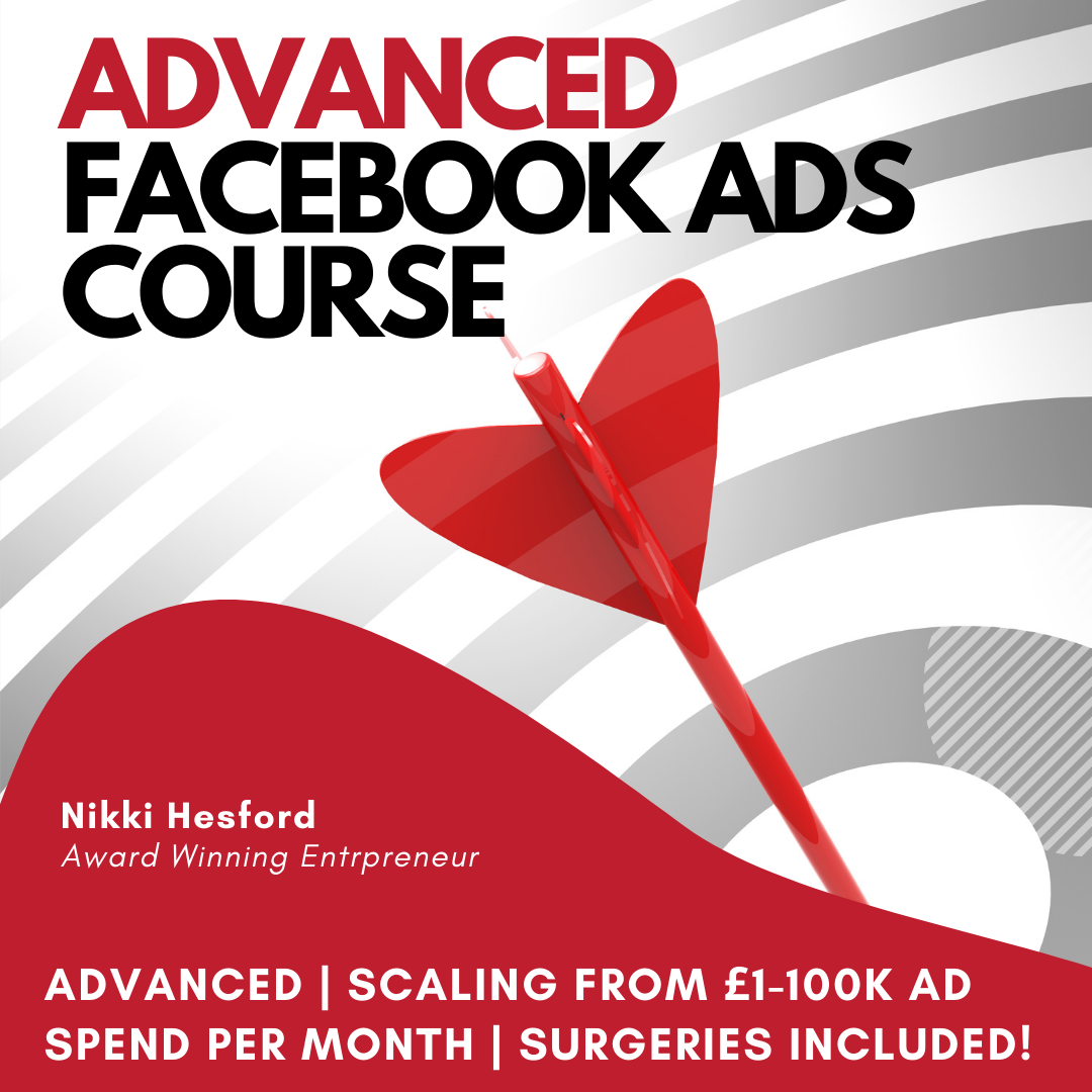 Advanced Facebook Ads Training for Marketers