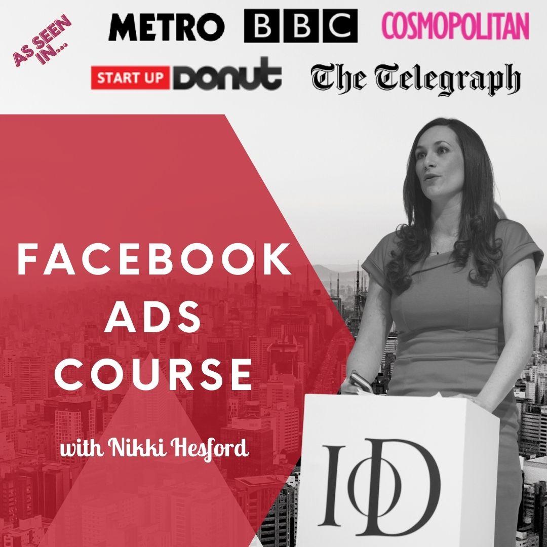 Facebook Advertising Online Training Course
