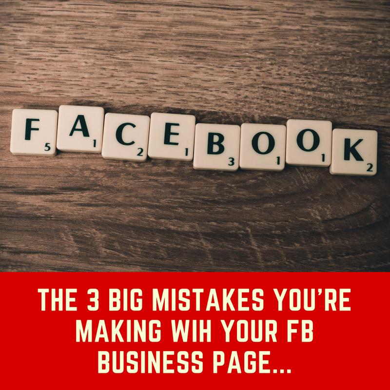 Facebook mistakes